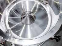 TANGENTIAL SPRAY IN THE ROTARY INSERT AND CPS TECHNOLOGY IN THE CPS INSERT The fluid bed rotor process allows a whole series of methods with specific advantages.