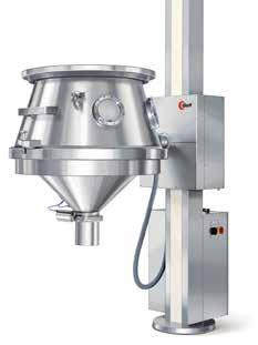 Some examples: Lifting column LD 120 Granulation line in compact design