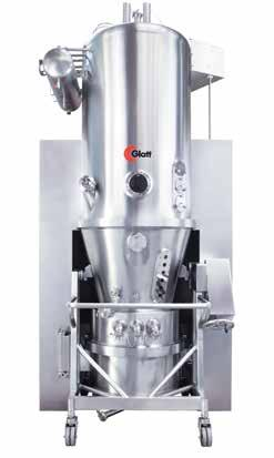 THE WS COMBO SERIES Maximum process flexibility. A WS Combo offers the possibility to dry, granulate, or coat particles in a single machine.