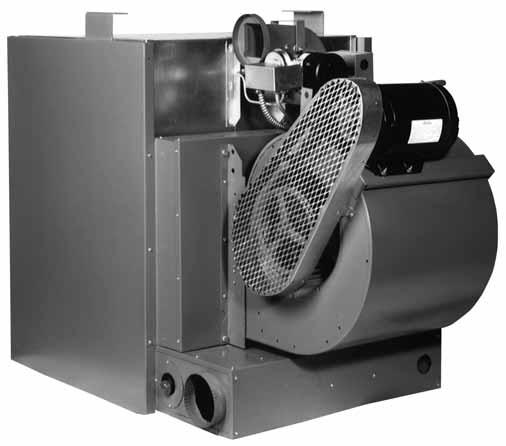 QVSB SEPARATED COMBUSTION BLOWER TYPE UNIT HEATER The Sterling Separated Combustion Blower Type Unit Heater keeps energy costs down by offering 80% thermal efficiencies.