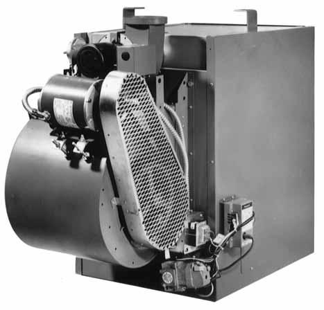 QVEB ENERPAK HIGH EFFICIENCY BLOWER TYPE GAS-FIRED UNIT HEATERS The advanced Sterling ENERPAK Blower Type Unit Heater keeps energy costs down.