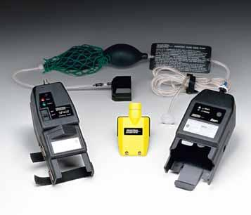 2 2 Remote Sampling Equipment b Sampling pumps and hand aspirators provide the ability to check for the presence of potentially hazardous atmospheres in a remote area or confined space.