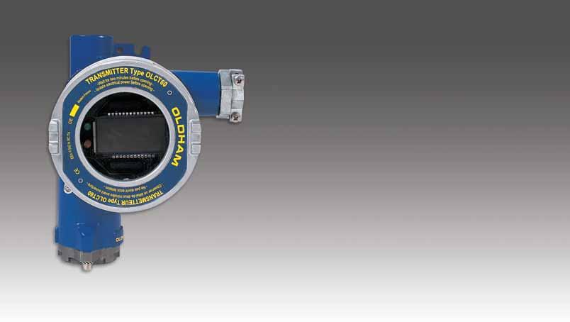 3 12 OLCT 60 Fixed Monitor Intrinsically Safe (IS) and XP approved Corrosion resistant 4-20 ma output Back-lit display Pre-calibrated sensor Non-intrusive local calibration Available Sensors: AsH 3,