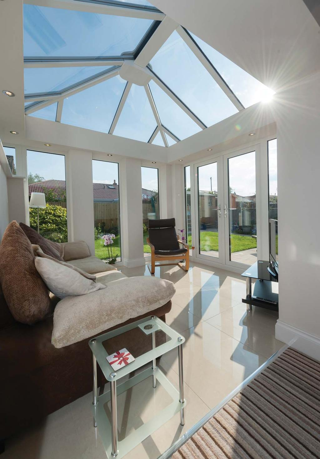 If you are looking to add more style to your lifestyle, nothing comes close to the Premium by Ultraframe.