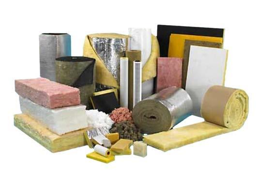 Click to enlarge. Four Types of Insulation Although insulation can be made from a variety of materials, it usually comes in four types, and each type has different characteristics.