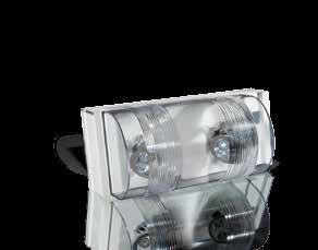 COMMERCIAL Provider PRO-2N/PRO-3N Completely self-contained, thermoplastic construction with a polycarbonate lens that protects the fully-adjustable self-locking heads Available with sealed,