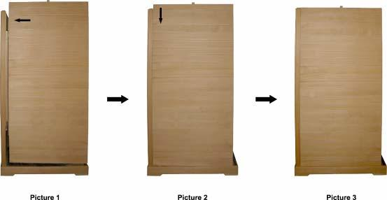 READ BEFORE INSTALLATION: Each panel is heavy. Be careful to avoid injury when installing, especially the top panel. Two adults are required for the installation of sauna room.