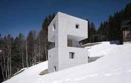 We do this by first researching and analyzing the work of the Austrian architecture firm Marte.Marte (http://www.marte-marte. com).