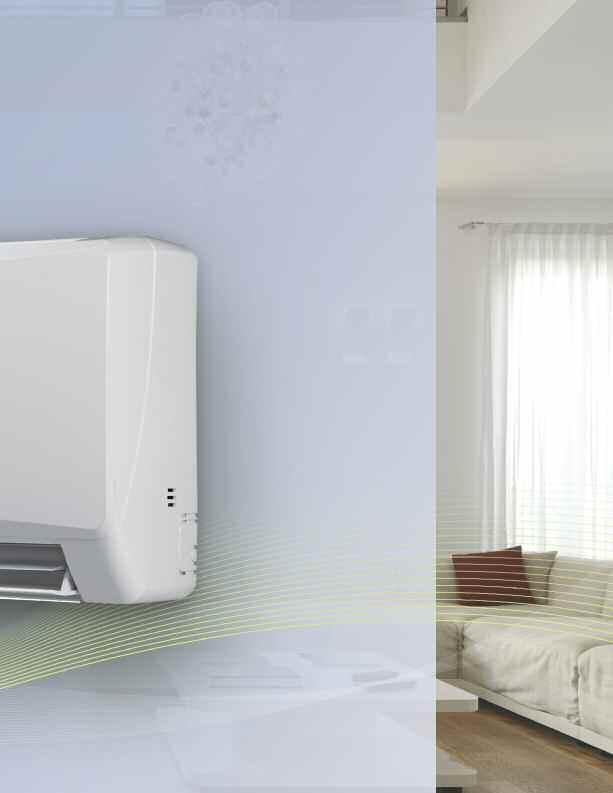 Simply elegant. Simply efficient. DUCTLESS SPLIT TERRA NEO RIO U-MATCH GREE SPANS THE GLOBE.