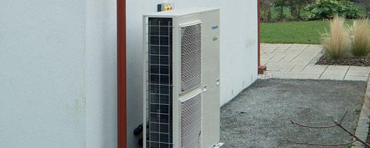 The Aquarea heat pump is a much more flexible and cost-effective alternative to a traditional fossil fuel boiler.