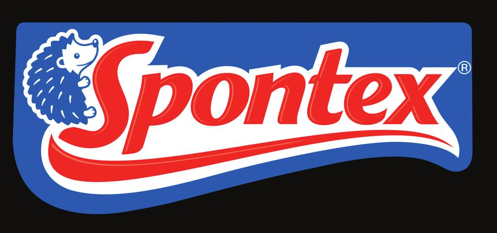 Welcome to Spontex Products Spontex is the number 1 selling cleaning tools brand in Europe. Spontex created the first cellulose sponge steam in 1932.