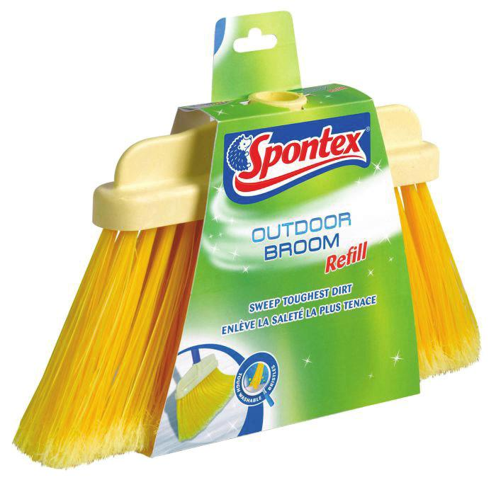 Code: 3384129002921 OUTDOOR BROOM SET Strong and thick bristles to pick up small and large