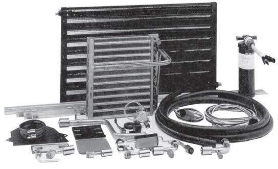 "FACTORY TYPE DROP-IN EVAPORATOR KIT FORD ""L"" SERIES CONVENTIONALS A/C & HEATER UNITS The 10-9729 evaporator kit for the Ford ""L"" Series takes advantage of the existing O.E.M."