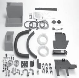 A plastic trim kit is also available to be used with the louvered plenum assembly to complete the integrated look.