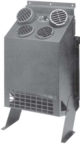 EVAPORATOR UNIT BACKWALL MOUNT The 10-9712 blasts ice cold high velocity air where you want it.