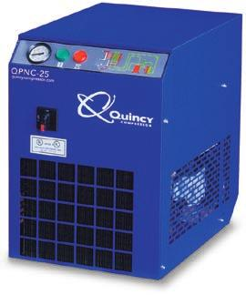 The Science of Compressed Air QPNC Specifications & engineering data Non-Cycling Standard Electrics 230-3-60 Dimensions Approx Connections cfm @ m 3 /hr Volts/Phase Full Load Full Load Full Load Max