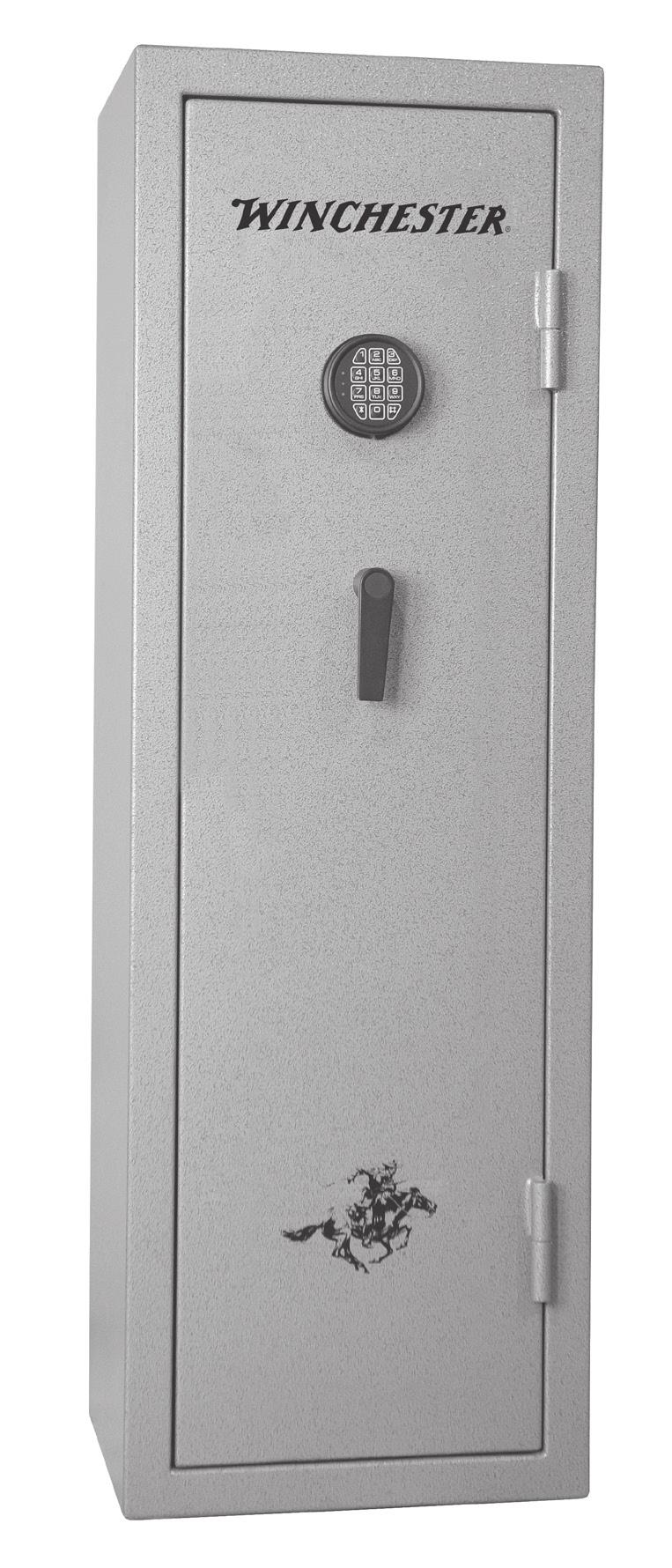 OUTSIDE VIEW Electronic Lock External Hinge Single Lever Handle Safe Door Safe Body