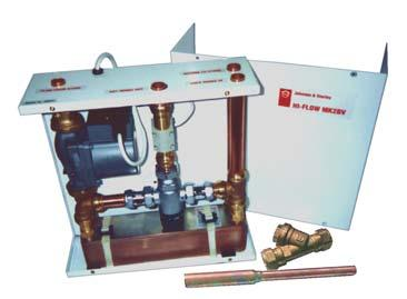 DPS Hi-Flow Mains Pressure Hot Water from an existing vented copper cylinder.
