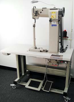Presser Foot and Roller Feed Machine with DU-CW & SR-2