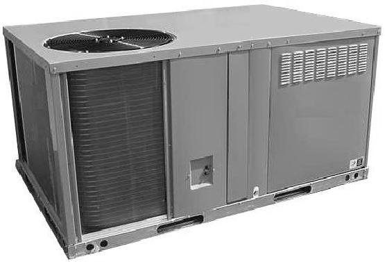 PGB SERIES 3thru5Ton 10 SEER C CONVERTIBLE SINGLE PACKAGE GAS/ELECTRIC UNIT SINGLE PACKAGE Combination gas heating and electric cooling, self contained for year-round comfort.
