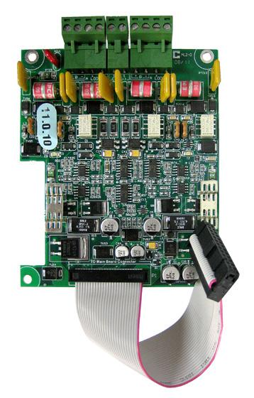The MMX-2003-12NDS provides space for the FNC-2000 Network Controller Module, two internal adder modules and two