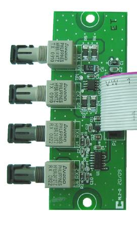 provides two Signaling Line Circuits (SLC) to the MMX system consisting of 99 Analog Sensors and 99 Addressable