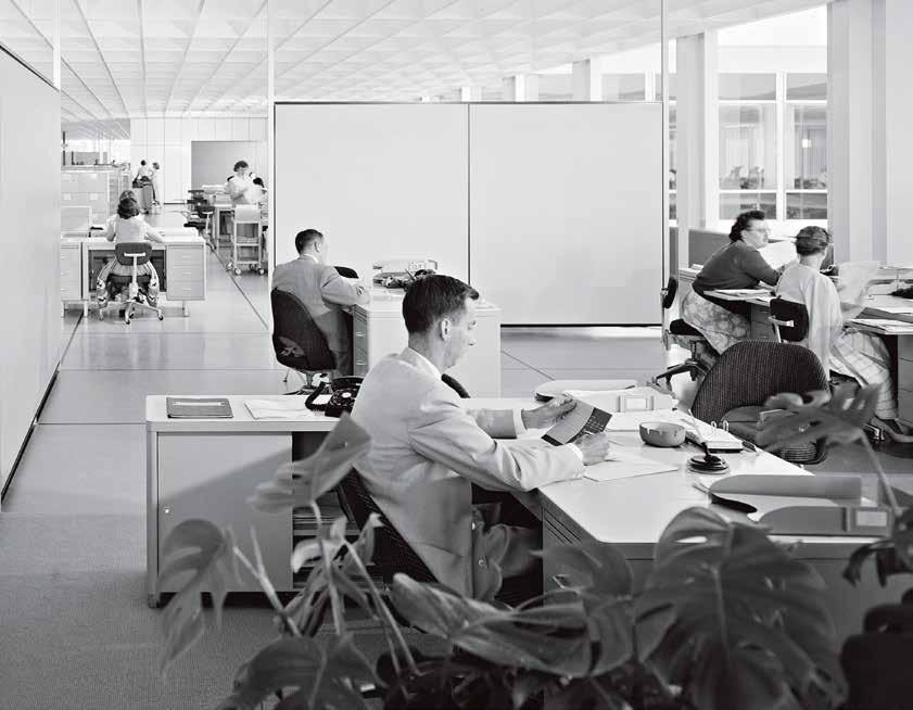 Ezra Stoller/Esto 1957 Office interior