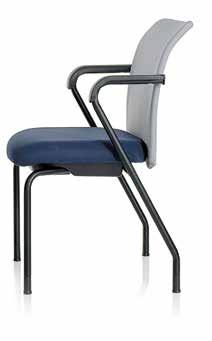 Presto, Navy Blue. 88W-MB-4-SY-HP-5-SL-HC 7 8 7 EWC Pro Side The EWC Pro side chair stacks 3-high on the floor.