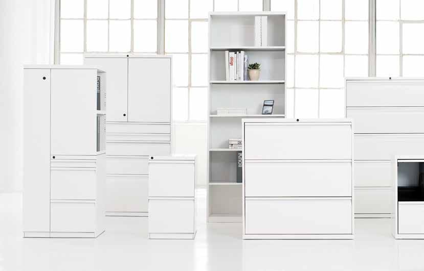 open plan / files and storage Knoll files and storage, featuring lateral files, mobile pedestals and architectural towers, maximize your organizational options without compromising valuable workspace.
