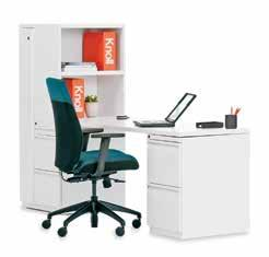 A Storage Solution for Any Application Whether in an individual workspace, team room or community space, Calibre s broad
