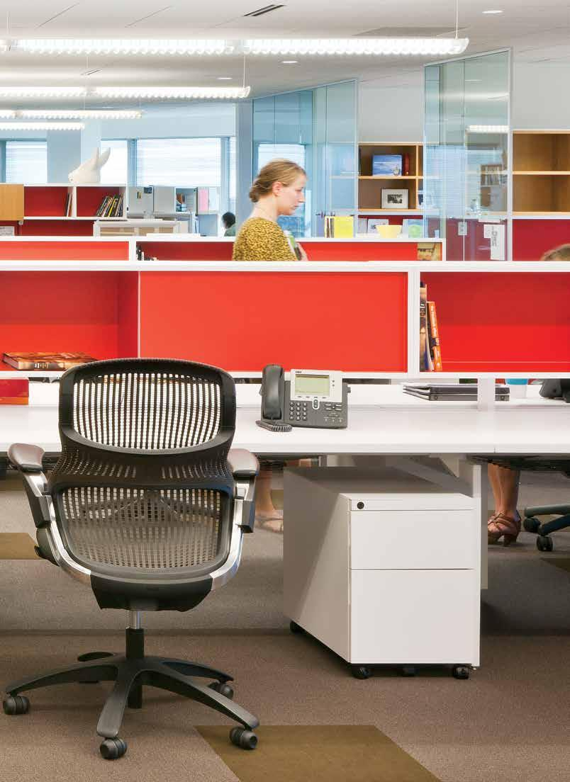 Designing a Distinctive Open Plan Workplace. open plan New work models. New solutions.