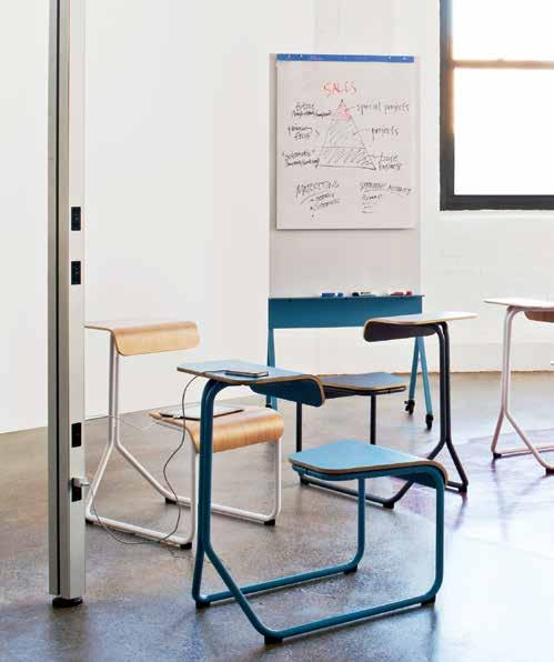 4 3 #smallbiz solutions Furniture isn t technology, it supports it. Knoll provides product solutions that adapt readily to support the ever-changing technology needs of organizations and employees.
