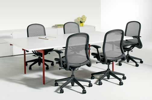 activity spaces / team meeting / meeting tables Whether formal or informal, Knoll tables create productive meeting spaces for the team.