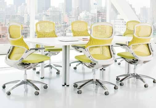 yt9648l > Chadwick chair, pg 22 2 Propeller Rectangular Conference Table Tech-savvy, offering easy reconfiguration and clever wire management. Designed by Emanuela Frattini.