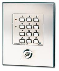 Access Control, Code Lock Code Lock for Flush Mounting SOLICODE 211 Solicode 211 is a compact code lock for flush mounting.