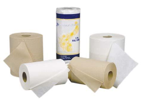 Super-absorbent paper towels deliver up to 540 hand dryings per roll (180% more towels than folded systems). 13700739 28086 540 ct., 10n. x 10'', White, 1-Ply 6/cs.
