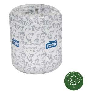 Elegant embossing enhances bulk and softness. Each roll is overall wrapped and that ensures sanitary protection. The easy start tail seal prevents waste.