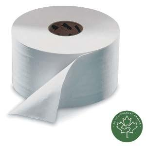 TORK ADVANCED JUMBO ROLL TOILET TISSUE Tork Advanced jumbo bath tissue's high capacity provides fewer refills and reduces labor. Large size is pilfer proof, hard to conceal. Can't use at home.