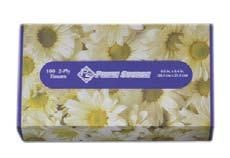 ANGEL SOFT PS FACIAL TISSUE Premium quality facial tissue is soft and absorbent. 13704858 48580 100 ct., White, Flat Box, 2-Ply 3000/cs.