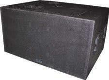 5 H x 22 W x 18 D 85 lbs. VMAX 150C XH - 127 db SPL 50 Hz to 19 KHz VMAX 120C XL 400 watts RMS active 2-way trap cabinet.