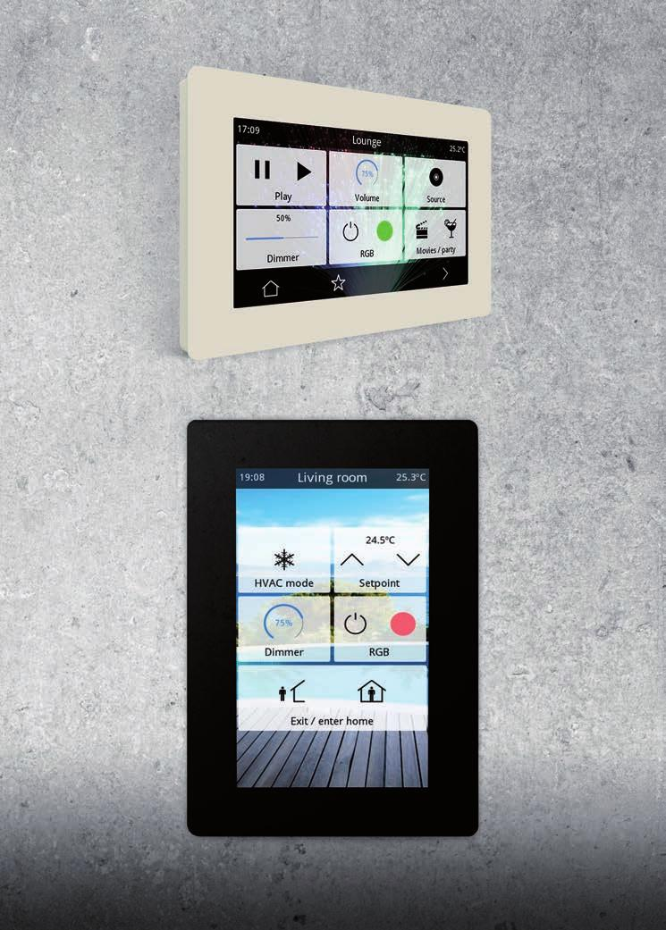 PUSH BUTTONS IDDERO VERSO ARCUS TOUCH IT SMART http://www.