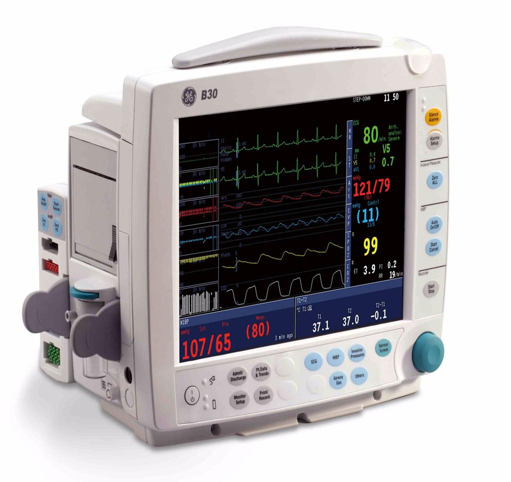 GE Healthcare B30 Patient Monitor User s Reference Manual B30 Patient Monitor English