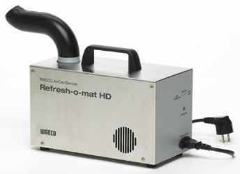 Air conditioner disinfection Refresh-o-mat heavy-duty ultrasonic atomiser For professional use in workshops: Ultrasonic technology eliminates bacteria and