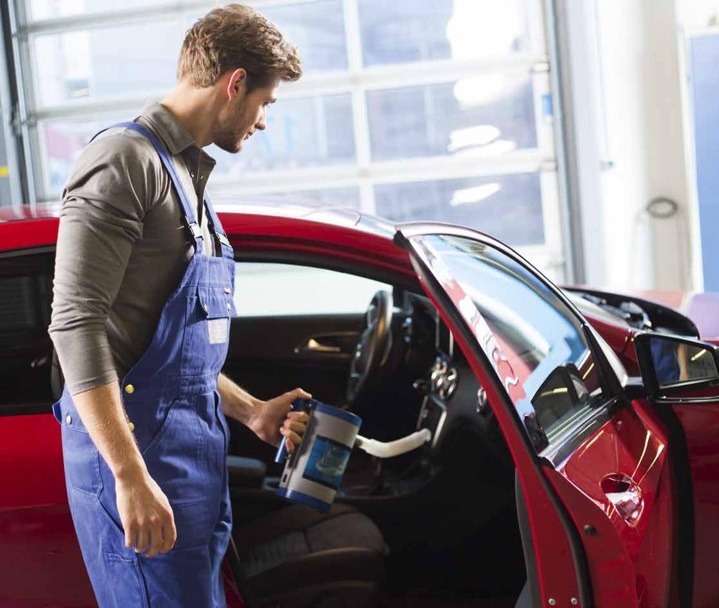 Professional Interior clean-up Professional Interior clean-up PROFESSIONAL CLEAN-UP ELIMINATES BACTERIA AND SMELLS When fixing used cars for resale or giving customer cars a professional clean-up you