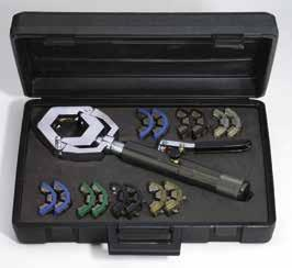 heavy-duty tool kit for fast and reliable connection of hoses and fittings