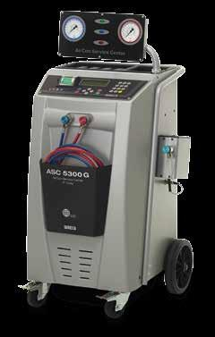 Package solutions for A/C service and repair ASC 3000 G R 134a Package solution for A/C service on buses, rail cars, etc. AirCon Service Center ASC 3000 G Ref. No.