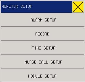 "3.3.1 ALARM Volume In the system there are five levels of Alarm Vol: OFF, 1~4. ""OFF"" level means the alarm sound is closed."