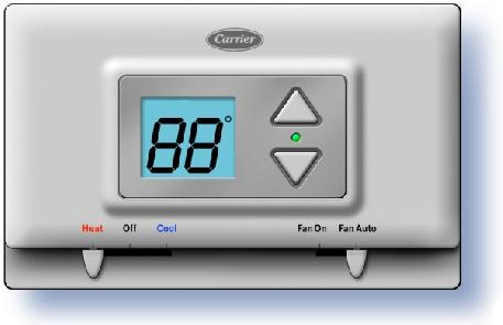 Installation Instructions TSTATCCPQ501 TSTATBBPQ501 P474-1035 Digital Thermostat NOTE: Read the entire instruciton manual before starting the