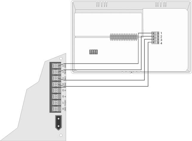 Model SK-5208 Installation Manual 151204 2. Secure it to the wall using #6 or #8 screws. The mounting plate should be oriented so that the word TOP is toward the top of the plate and facing you.
