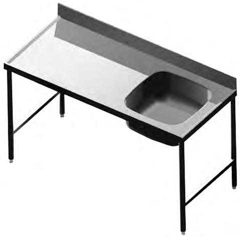 1050 396 150 200 500 650 Industrial Products IMAGE TYPE / MODEL DIMENSIONS (LXW) PRODUCT CODE S1 Stainless Steel Catering Sinks Industrial Products Franke model S1 Catering Sink single end/centre